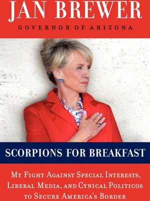 "Gov. Jan Brewer's book ""Scorpions for Breakfast."""