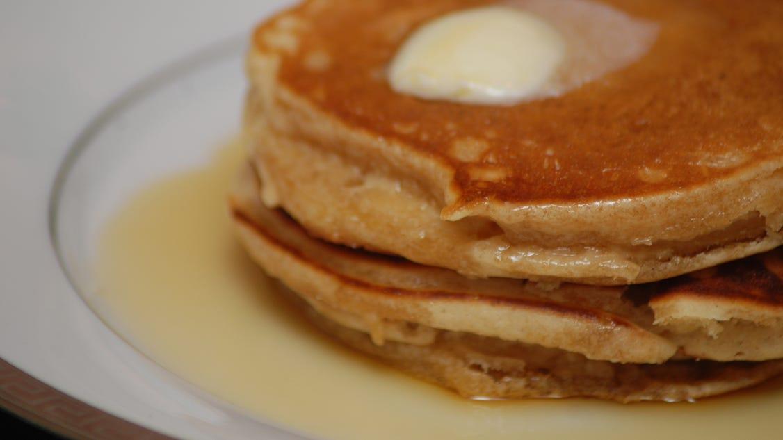 Rosa Parks' 'featherlite' pancakes recipe