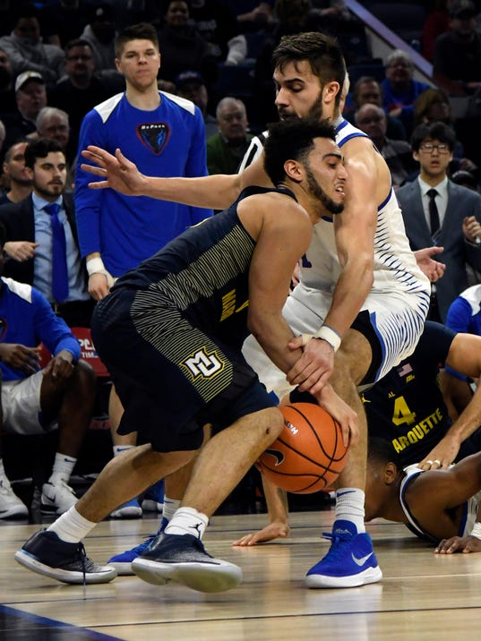 NCAA Basketball: Marquette at DePaul