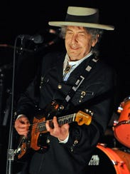 Bob Dylan performs at the 22nd annual Bluesfest music