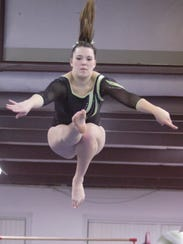 Howell's Marisa DeCamp took second in the all-around