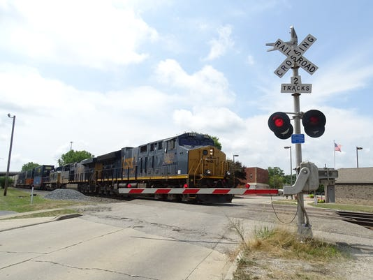 1- Train crossings to close