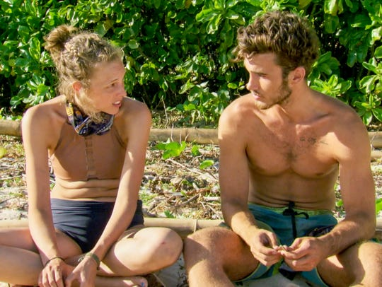 "Kellyn Bechtold and Knoxville's Michael Yerger on ""Survivor:"