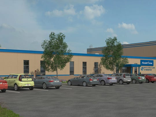 The new Finish Line Boys & Girls Club will open at 38th Street and Post Road next spring.
