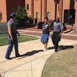 Suspected gunman in custody at Mississippi State University.