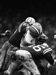 Football: NFL Championship: Cleveland Browns Jim Brown