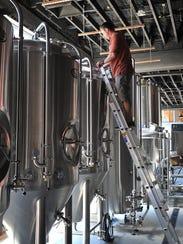 Matt Bitsche of Wichita Falls Brewing Company said