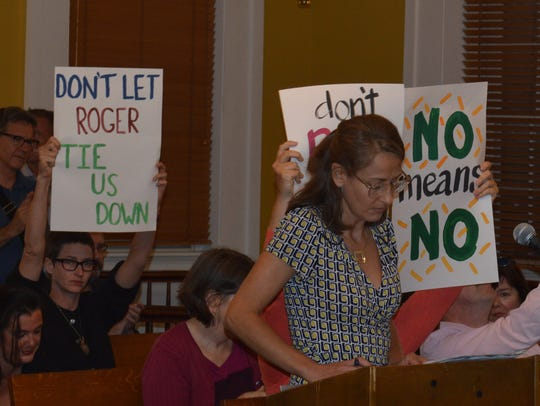 Kathleen Foley, of Cold Spring, tells the Putnam County