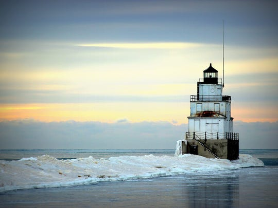 "Second place winner of the contest is ""Manitowoc Lighthouse."""
