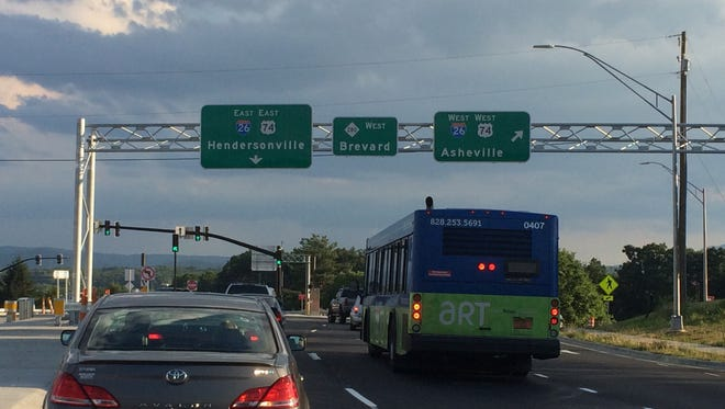 A reader thinks Airport Road at I-26 should have better signage for Asheville Regional Airport.