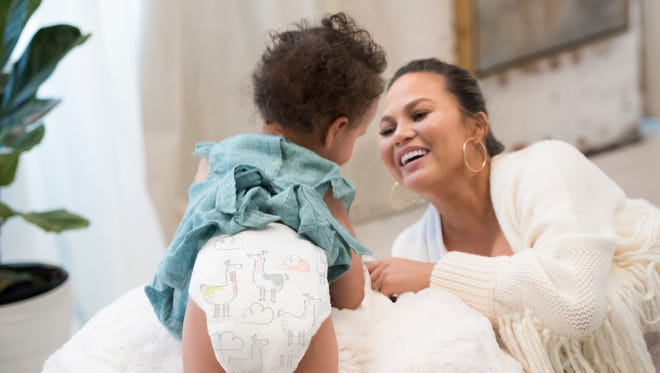 Chrissy Teigen has joined the Pampers family as the first-ever Creative Consultant for the new Pampers Pure Collection.