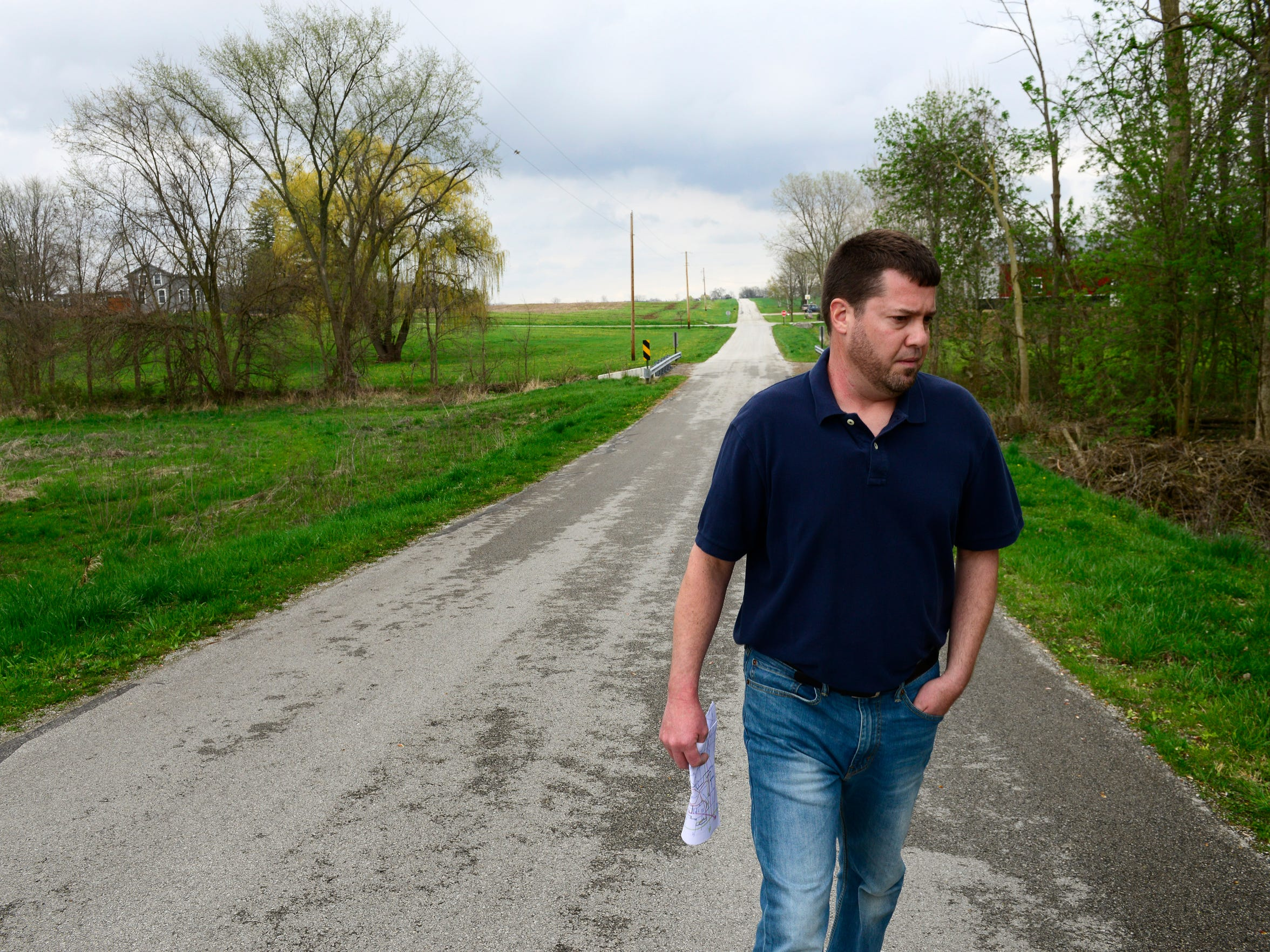 Chris Zeman, who lives north of Republic, has been one of the most vocal critics of a proposed APEX Clean Energy wind farm project in Seneca County, contending that the turbines would bring unwanted noise, light flickers and construction activity near his home.