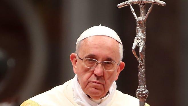 El Papa Francisco pidió el cese de la violencia en Venezuela.