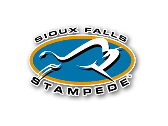 Sioux Falls Stampede Hockey Logo