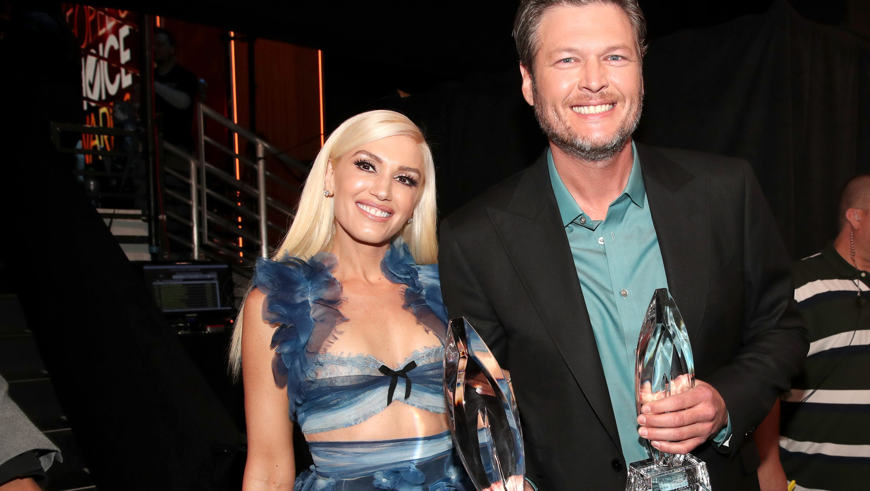Blake Shelton Thanks 39 Hottest Date 39 Gwen Stefani At People