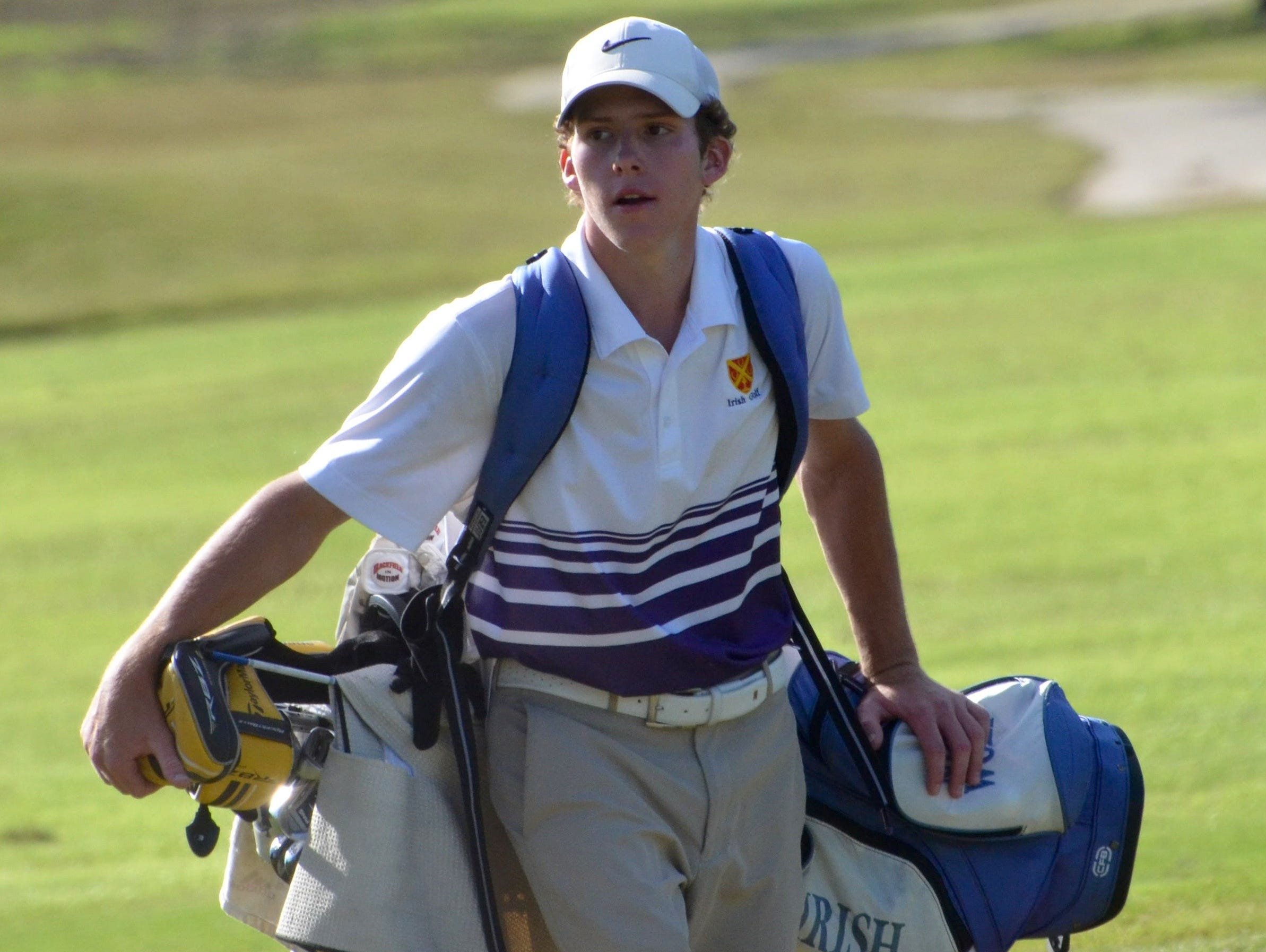 Father Ryan's Nick Wolf finished fourth in the DII-AA state golf tourney.