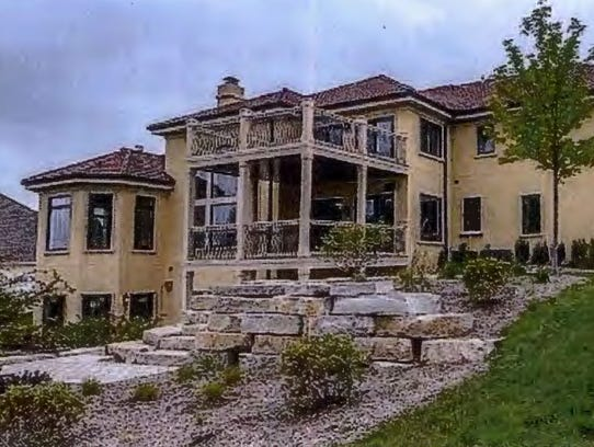 Albert Golant rented this house at a Waukesha County