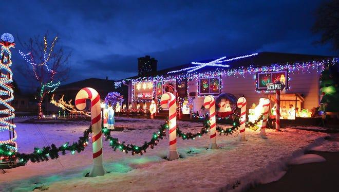 Candy Cane Lane runs tours from 7-9 p.m. starting at Skyline Optimist Park Dec. 16-17.