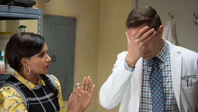 Hilarious comical treasures are surely falling out of Mindy Kaling's mouth while playing Dr. Mindy Lahiri.