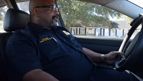 LSUA Chief of Police Donald Collins talks about what