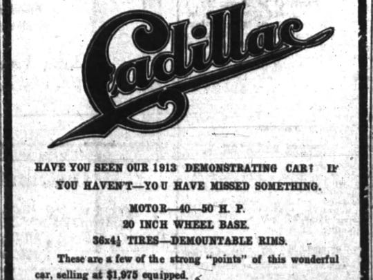 This advertisement for the Cleveland Garage, on Academy
