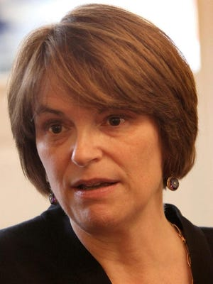 Brown University President Christina Paxson