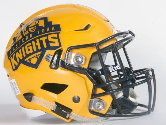 Eastern York football helmet.
