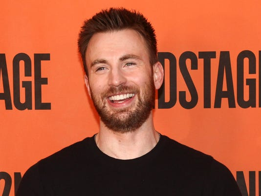 AP CAPTAIN AMERICA CHRIS EVANS A ENT USA NY