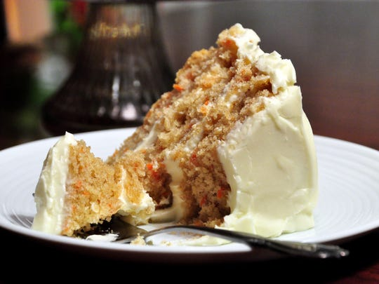 Carrot Cake, a favorite of Jimmy Hawks.