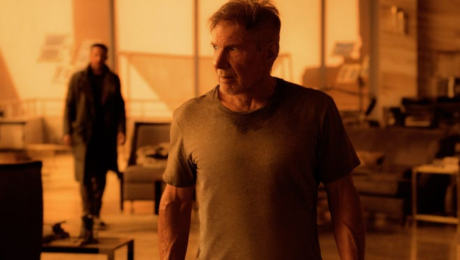 "Harrison Ford in a scene from his recent movie ""Blade Runner 2049."" Ford was seen Sunday in Santa Paula assisting at the scene of a car accident."
