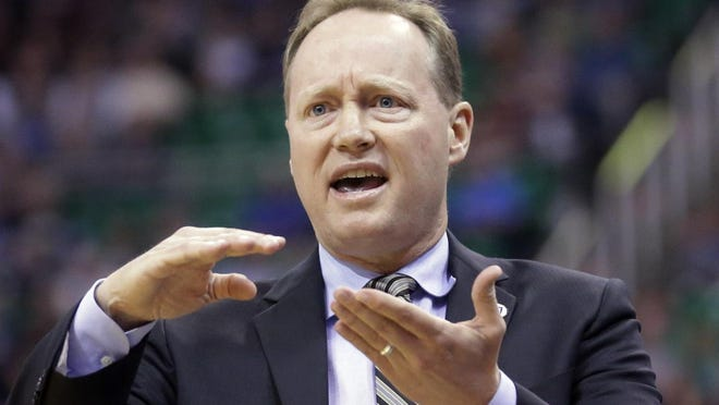 Mike Budenholzer was coach of the Atlanta Hawks for the past five seasons.