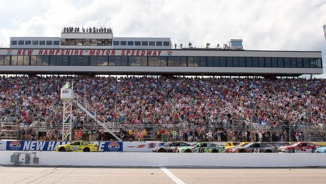 New Hampshire Motor Speedway, above, is losing its second NASCAR Cup Series race to Las Vegas beginning in 2018.