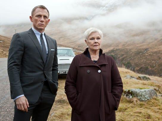 Judi Dench Daniel Craig