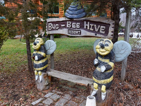 The Bug-Bee Hive Resort Tuesday, Dec. 8 along Lake