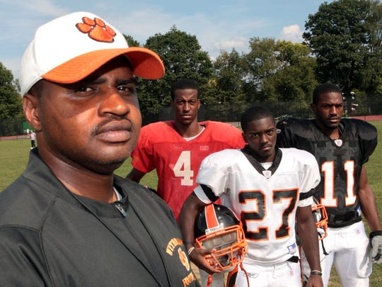 Doc Gamble at Withrow High School in 2009.