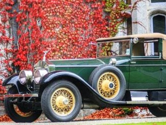 The vintage car show at the Eliot Ness Fest will include