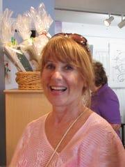 Visitor Cindy Miklos.