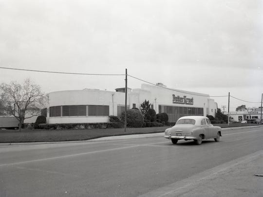 The Butter Krust Bakery on Ayers Street in January 1959.