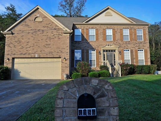 An exterior shot of the house owned by Kimberly Rodriquez,