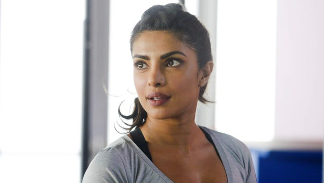 """Priyanka Chopra in a scene from the series, """"Quantico,"""" airing Sundays at 10 p.m. on ABC."""