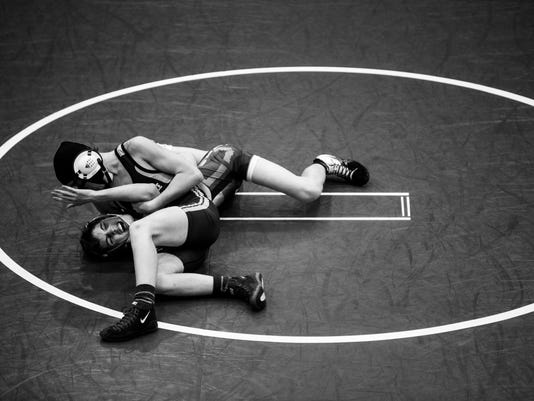 Powdersville vs. Palmetto wrestling