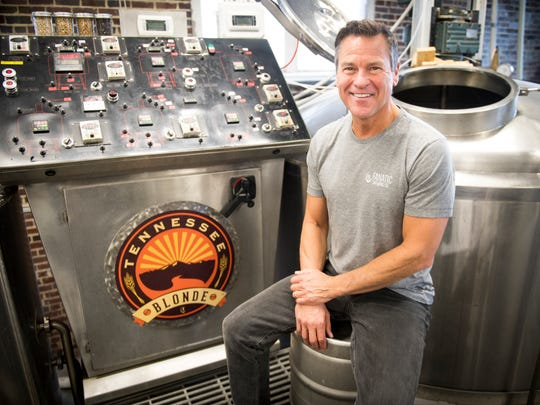 Marty Velas is the owner and head brewer at Knoxville's