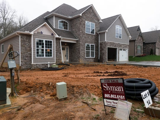 A home new home for sale at The Cove subdivision off