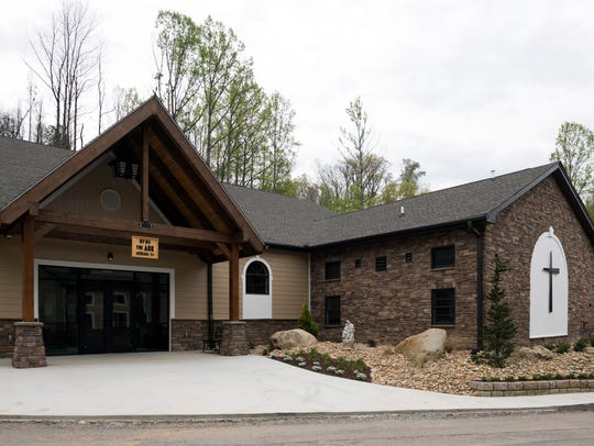 The Ark at Roaring Fork Baptist Church is a 12,000-square-foot family life center with a commercial kitchen and basketball court.