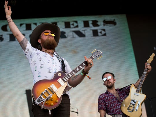 Brothers Osborne performs at the Bonnaroo Music and