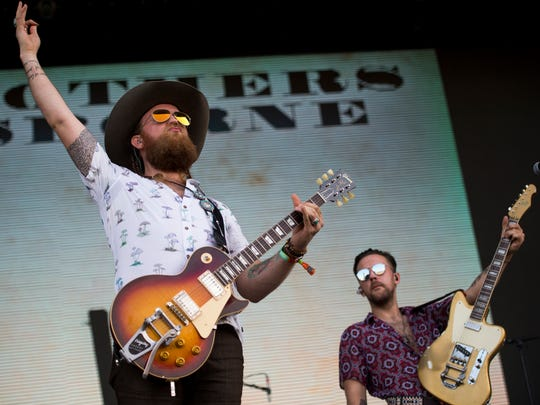 Brothers Osborne performs at the Bonnaroo Music and Arts Festival in Manchester, Tenn., on Sunday, June 10, 2018.