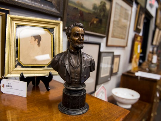 Antiques on display at Case Antiques. Case Antiques is hosting its first auction in their newly expanded gallery headquarters located at 4310 Papermill Drive on July 14, 2018.
