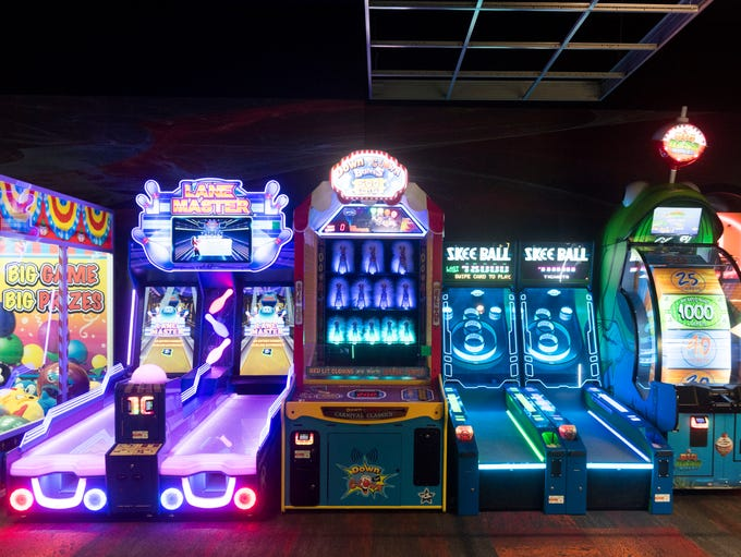 Cinebarre's arcade on Thursday, July 19, 2018.