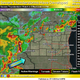 Severe thunderstorms moving across southern Wisconsin; thunderstorm watch in effect