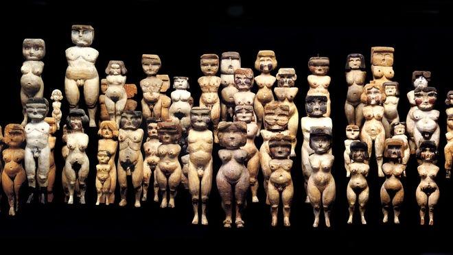 The Woodbridge figurines.